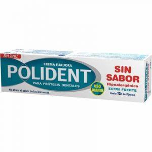 Crema adhesiva dental sin sabor polident 40gr