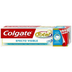 Pasta dentífrica total efecto visible colgate 75 ml