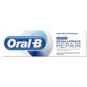Pasta dentífrica encías & esmalte repair original 75ml oral-b