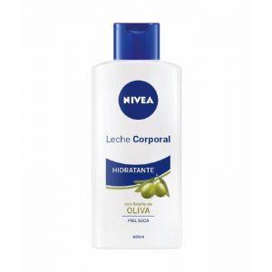 Body milk aceite de oliva nivea 400 ml
