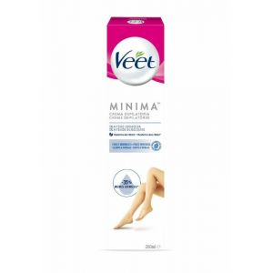 Crema depilatoria para piel sensible veet 200 ml