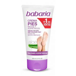 Crema pies seca-agrietados aloe vera babaria 150 ml