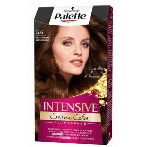 Coloración permanente textura crema de color nº 5,6 castaño caramelo palette intensive 115 ml
