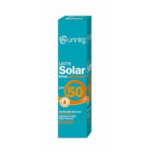 Protector solar facial fp 50 leche protección alta ifa unnia 50 ml