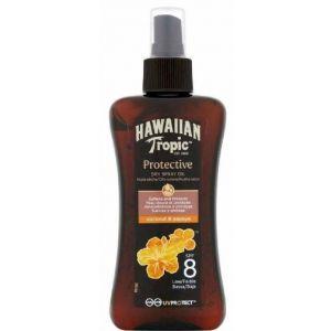 Protector solar fp 8 aceite spray protección baja hawaiian tropic 200ml