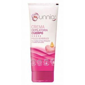 Crema depilatoria con paleta piel sensible  ifa unnia 200ml