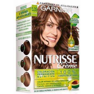 Coloración nutrisse creme chocolate 5.35 garnier