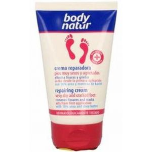 Crema repara pies muy secos/agrietados body natur 100 ml
