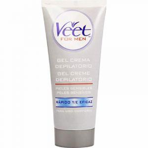 Crema depilatoria men piel sensible veet 400ml