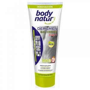 Gel depilatorio masculino piel sensible body natur 200ml