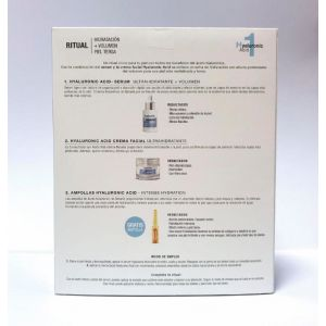 Estuche acido hialuronico babaria serum 30 ml + crema 50ml + ampolla 2 ml