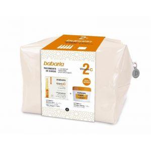 Neceser vitamina c babaria crema 125ml + ampolla 5x2ml