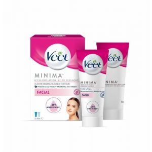 Crema depilatoria facial veet p2x 50ml
