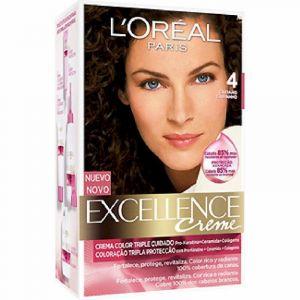 Coloración excellence castaño 4 l'oréal paris