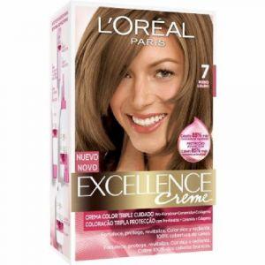 Coloración excellence rubio natural 7 l'oréal paris