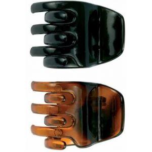 Grapa concha negra 3,5cm beter pack de 2 unidades