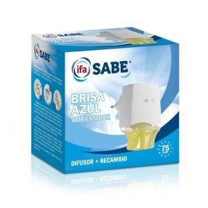 Ambientador electrico brisa azul ifa sabe aparato + recambio 26 ml