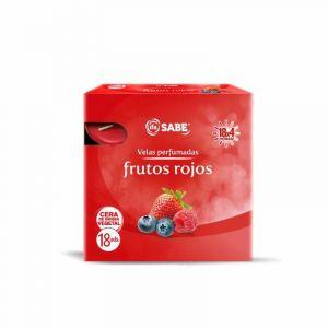 Vela tealight frutos rojos ifa sabe 18u