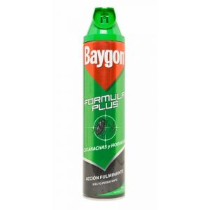 Baygon insecticida cucarachas aerosol 600ml