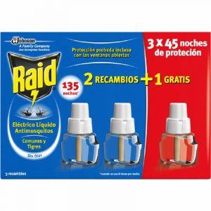 Insecticida electrico raid recambio 90 noches