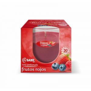 Vela perfumada frutos rojos ifa sabe  1 ud