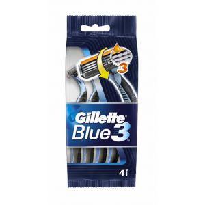 Maquinilla de afeitar con 3 hojas gillette blue 3 pack de 4 +1 unidades