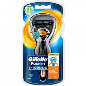 Maquinilla de afeitar fusion proglide con flexball gillette