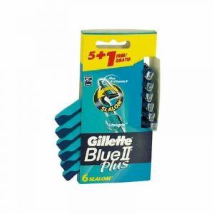Maquinilla afeitar desechable gillette blue slalom 5+1 uds