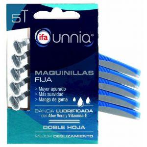 Maquinilla ifa unnia fija 2 hojas 5 und
