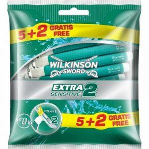 Maquinilla de afeitar wilkinson extra 2 sensit.5+2 uds