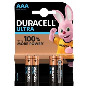 Pilas alcalina  duracell aaa lr03 4ud