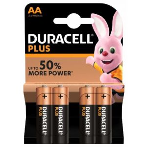 Pilas alcalina  duracell aa lr06 4ud