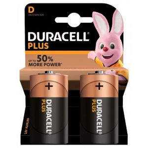 Pilas alcalina  duracell c lr20 2ud