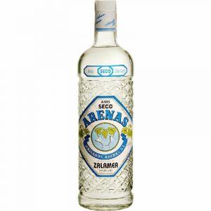 Anis seco zalamea azul botella de 1l