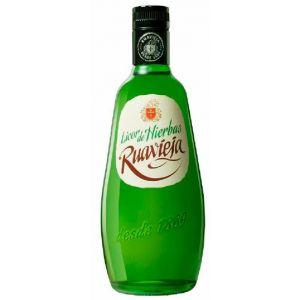 Licor de hierbas ruavieja botella de 70cl