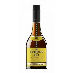 Brandy 10 años torres botella de 70cl