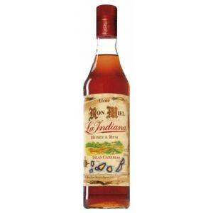 Ron miel indiana botella de 70cl