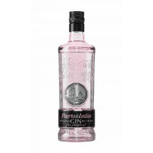 Ginebra rosa puerto de indias botella 70cl