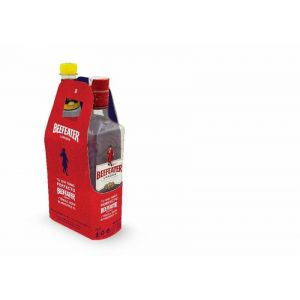 Ginebra beefeater 70cl+tonica 1l on pack