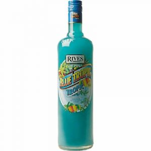 Licor  blue tropic rives bot 1l