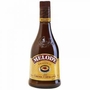 Licor de crema catalana melody botella de 70cl
