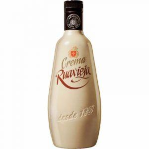 Licor de crema de orujo ruavieja botella 70cl