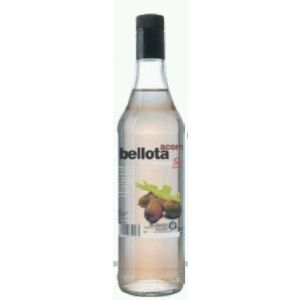 Licor de bellota schnnapps botella de 70cl