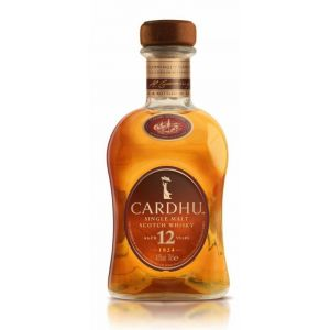 Whisky malta cardhu botella de 70cl