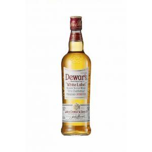 Whisky dewars  white label botella de 1l