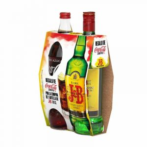 Whisky j.b. 70cl+coca cola 1,25 on pack