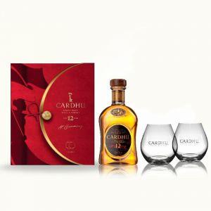 Whisky malta cardhu 70cl+ vaso on pack