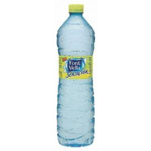 Agua mineral limon font-vella  pet 1,25l