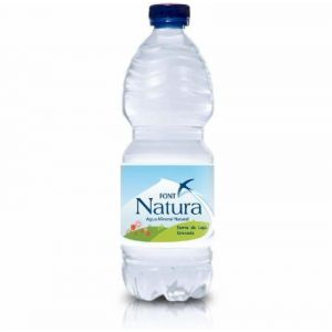 Agua mineral  font natura pet 50cl