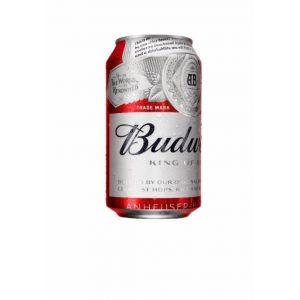 Cerveza budweiser lata 33cl
